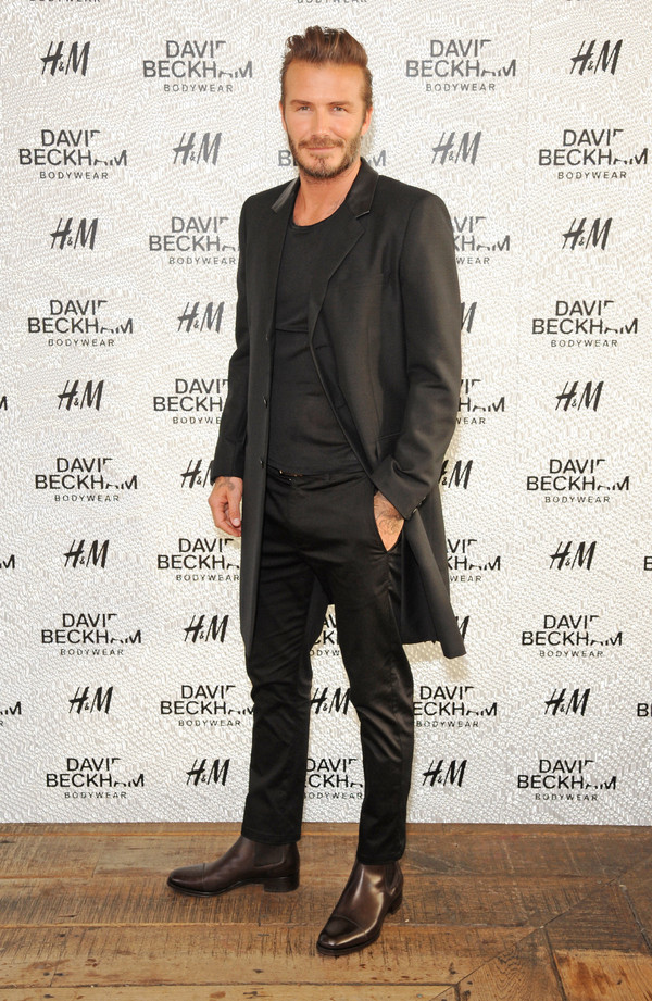 H&MHand in hand with David Beckham (David Beckham) Held a party in London to celebrate the launch of the swimwear collection